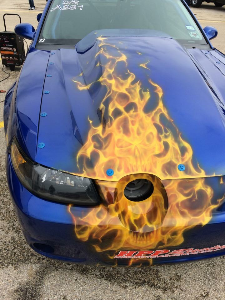 Quik-Latch Mini Install on Mustang Drag Car