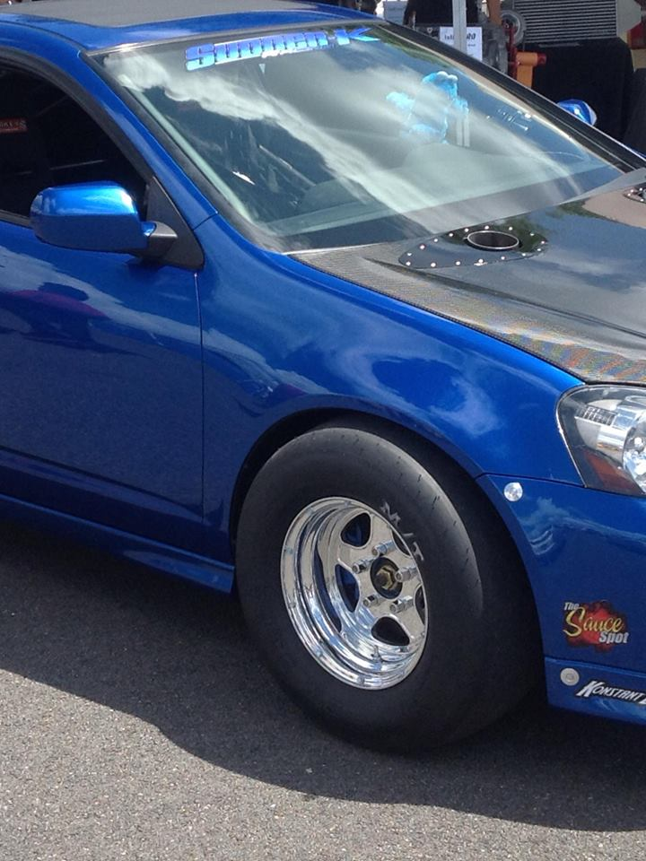 Drag Race Prepped Acura RSX equipped with QL-25-S minis on the ...