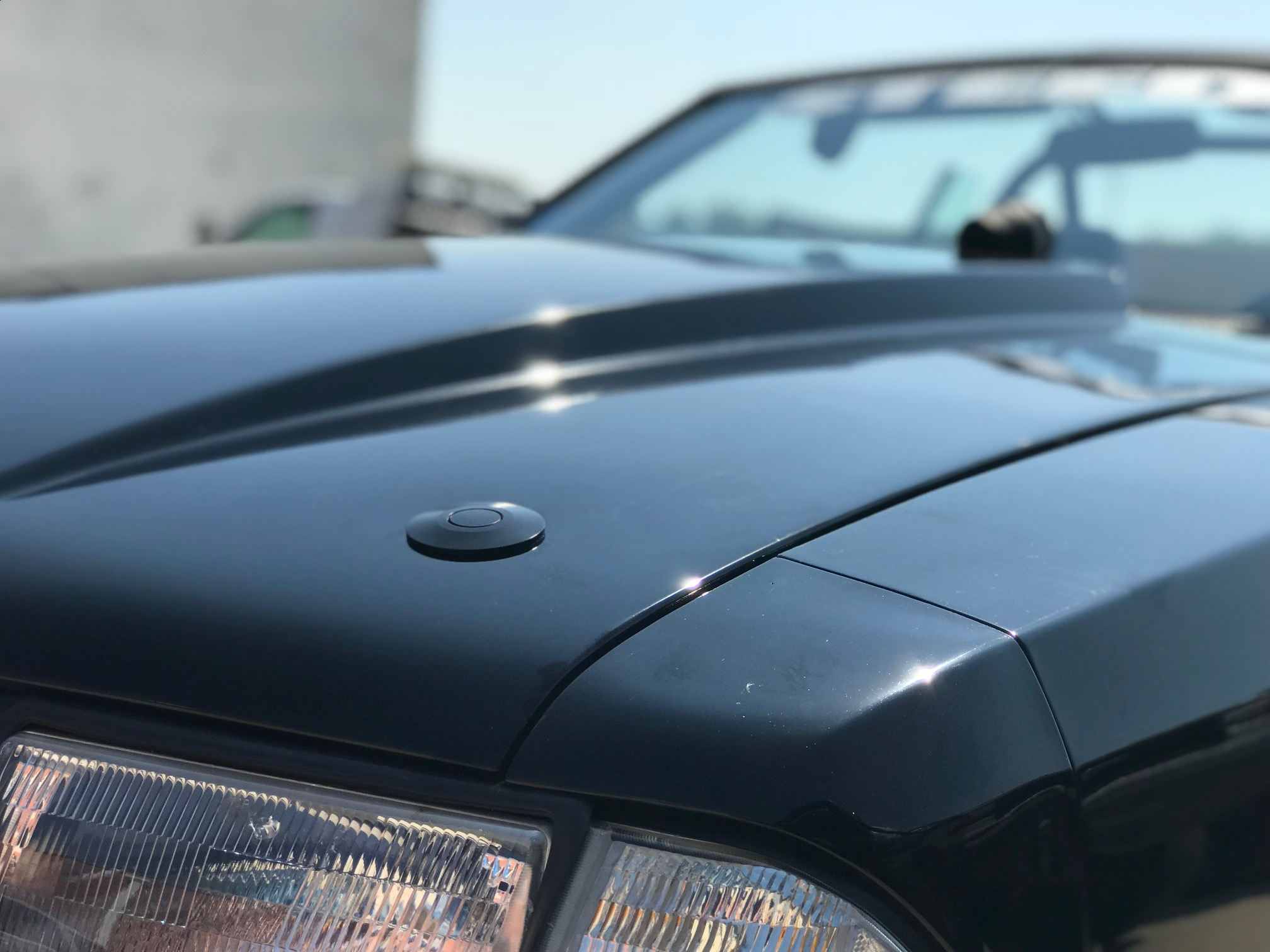 Fox Body Mustang Equipped With Some Ql 50 Lp Quik Latch Hood